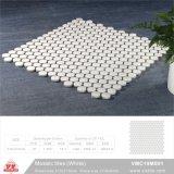 Material de construção de piscina em mosaico cerâmico Tile (VMC19M005, 310x315mm+D19X6mm)