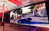 Un contraste élevé Indoor P 3,91 Location Afficheur à LED avec cartes en aluminium léger de 500 x 500 mm/500 x 1000 mm