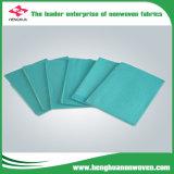 Tela não tecida de Spunbond do Polypropylene respirável usada em telas médicas