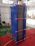 Scambiatore di calore del piatto di Gasketed per lo scambio dell'acqua di mare e di acqua di raffreddamento