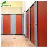 De witte Deur van de Verdeling HPL van het Toilet van de Kleur met Nylon Hardware