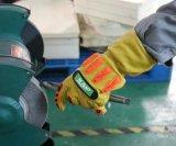 Кожаный чехол из козьего молока Vibrasion-Resistant Anti-Cut Механические защитные перчатки с TPR