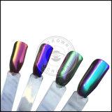 Unicorn Multi Chrome Aurora de sirena de gradiente de neón de pigmento de la uña