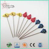 刺繍のための57mmの多彩なプラスチック矢のヘッド縫うピン