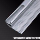 Profil en aluminium d'extrusion de 4134 DEL pour l'éclairage d'escalier avec RoHS