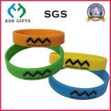 昇進(KSD-829)のためのCustom Companyのロゴのシリコーンゴムのリスト・ストラップ