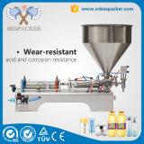 Máquina de rellenar líquida del agua de botella de la máquina de rellenar de la máquina de rellenar de la salsa de tomate pequeña