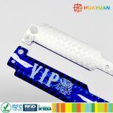 Wristband olografico di plastica di scintillio di abitudine RFID di mangement di evento