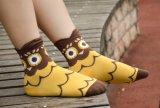 Cartoon Animal Womens filles équipage chaussettes de coton