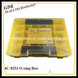 أصفر [4ك-8253] سليكوون [أ-رينغ] صندوق