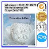 Pharmazeutisches Asthma Expectorant Terbutaline Sulfat CAS 23031-32-5 des Grad-99%