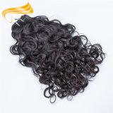 Tissage indien bon marché de cheveu de Remy de Vierge molle et intense
