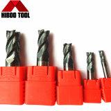 cortador de trituração do Roughing do carboneto de 10mm para o ferro de molde