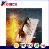 Construcción resistente al agua de la puerta de entrada de teléfono del banco de los sistemas de intercomunicación de emergencia Knzd-07A