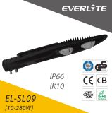 Luz de calle de Everlite 80W LED con IP66 Ik10
