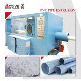 Serviceable труба проводника штрангя-прессовани трубы PVC делая производственную линию машины