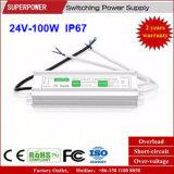 Alimentazione elettrica impermeabile costante di commutazione di tensione 24V 100W LED del driver del LED IP67