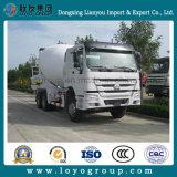 Camion de réservoir de mélangeur concret de malaxeur de Sinotruk HOWO 6X4 8-12m3
