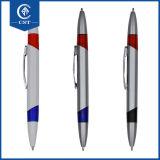 Crayon lecteur de bille en plastique imprimé par crayon lecteur bon marché fait sur commande de promotion avec le logo