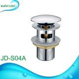 Jd-S03-1 Resíduos de Pop-up de aço inoxidável para lavatório com marca de Wels