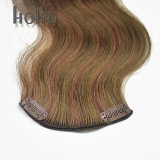 ボディ波の組合せカラー人間の毛髪の拡張の18インチクリップ