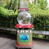Máquina de sopro da lotaria do ar da alta qualidade e máquina giratória da máquina afortunada da tração