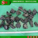fragmentos de goma ásperos de 50-150m m que hacen la planta que recicla el desecho/la basura/el neumático usado/desechado