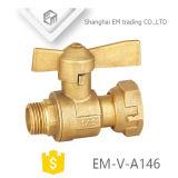 La prensa caliente forjado mango largo de la válvula de bola de latón (EM-V-A146)