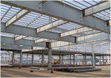 Estructura de acero Pórtico de la capacidad de taller, almacén, derramó