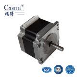 Alto motor de pasos de la precisión NEMA23 (los 57SHD0112-25M) con la certificación del TUV, híbrido motor de paso de progresión de 1.8 grados para la cortadora