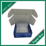 Caixa de Papelão Ondulado brilhante personalizada dobrado
