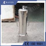 China fabricante de acero inoxidable en la industria de filtración filtro sanitario alojamientos