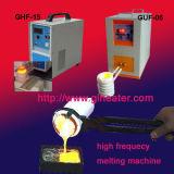 7kw super het Verwarmen van de Inductie van de Hoge Frequentie Smeltende Machine voor Smeltend Platina, Gouden Poeder, Zilveren Poeder, Koper met Snelle het Verwarmen Snelheid