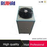 높은 Effeciency 1HP 플라스틱 가공 필드 산업 냉각장치를 위한 공기에 의하여 냉각되는 냉각장치 2.94kw/0.8ton 냉각 수용량 2528kcal/H