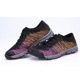 Form Flyknit Ineinander greifen-obere Sommer-Sport-Schuhe und Turnschuhe für Frauen
