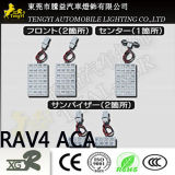 Светодиодный индикатор Auto Car показания внутреннего потолочного светильника светодиодные лампы освещения для Honda освобожденных/N-Box/RAV4