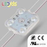 Alto brillo del lado de inyección de SMD de 2W módulo LED de retroiluminación