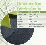 Tessuto di cotone di tela per l'indumento dei pantaloni, tessuto del vestito. Pantaloni di tela