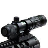 Регулируемый обозначитель визирования лазера зеленого цвета/держатель иллюминатора/электрофонаря W/Weaver