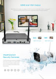 P2p 720p 디지털 무선 가정 감시 안전 IP WiFi CCTV 사진기 시스템 NVR 장비