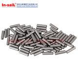 鋼鉄S45c溝があるまっすぐな合せ釘Pin