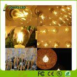Vidro retro e14 C35 4W Edison Vela de Incandescência LED de luz da lâmpada