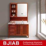 Personalizar rojo clásico de madera de teca Mobiliario de casa cuarto de baño Waterproof de aluminio
