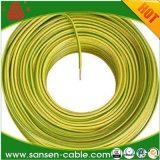 Gaine en PVC du câble de fil de cuivre 1.5mm 2.5mm 4mm de 6mm 10mm Câble électrique
