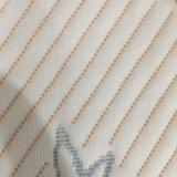 아이를 위한 면 자카드 직물에 의하여 뜨개질을 하는 직물 또는 매트리스와 베개 덮개 직물