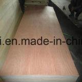 Madera contrachapada roja de la madera dura para el grado del paquete