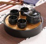 Insieme di tè di ceramica nero con l'OEM di Infuser ecc della teiera del tè e commercio all'ingrosso disponibile