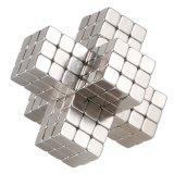 El cubo magnético, los sostenedores magnéticos Multi-Utiliza el juguete cuadrado de los imanes del cubo