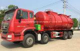 Carro resistente del transporte del lodo de aguas residuales de Sinotruk HOWO 8X4 20000L