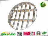 Grille en acier inoxydable séparateur magnétique, forme ronde